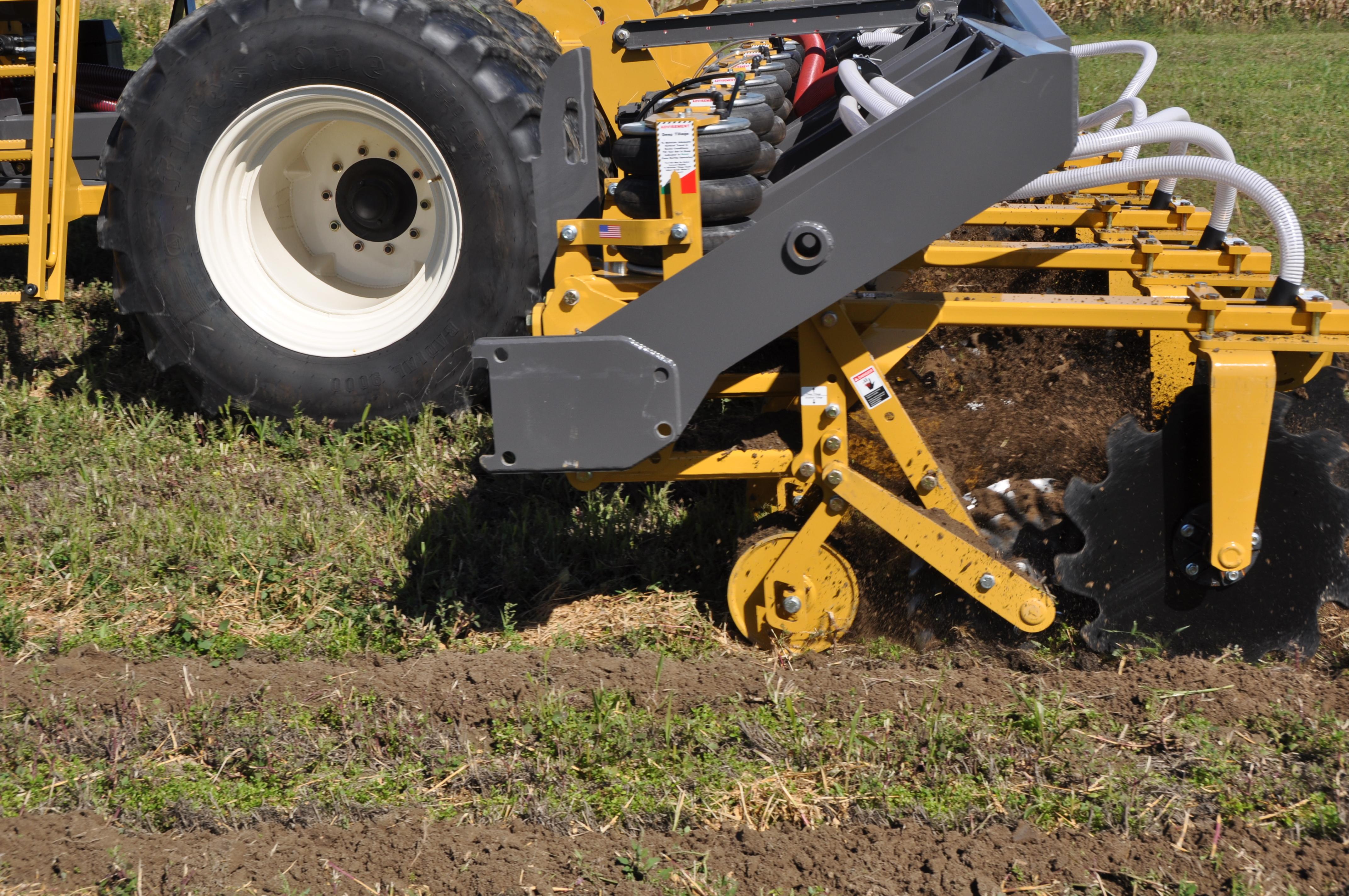 SoilWarrior X hard at work