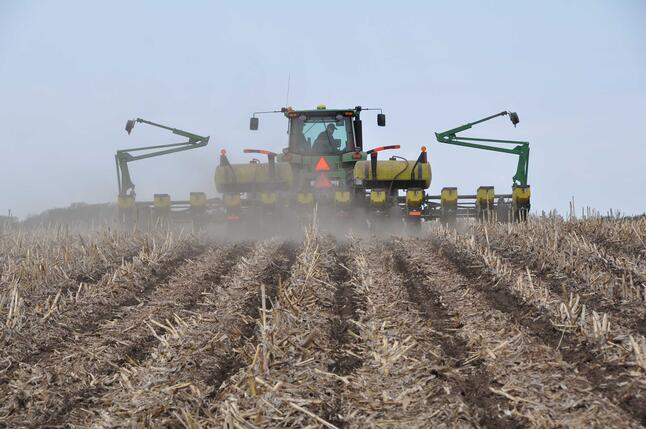 Planting Into Strip-Till Zones with Precision Guidance