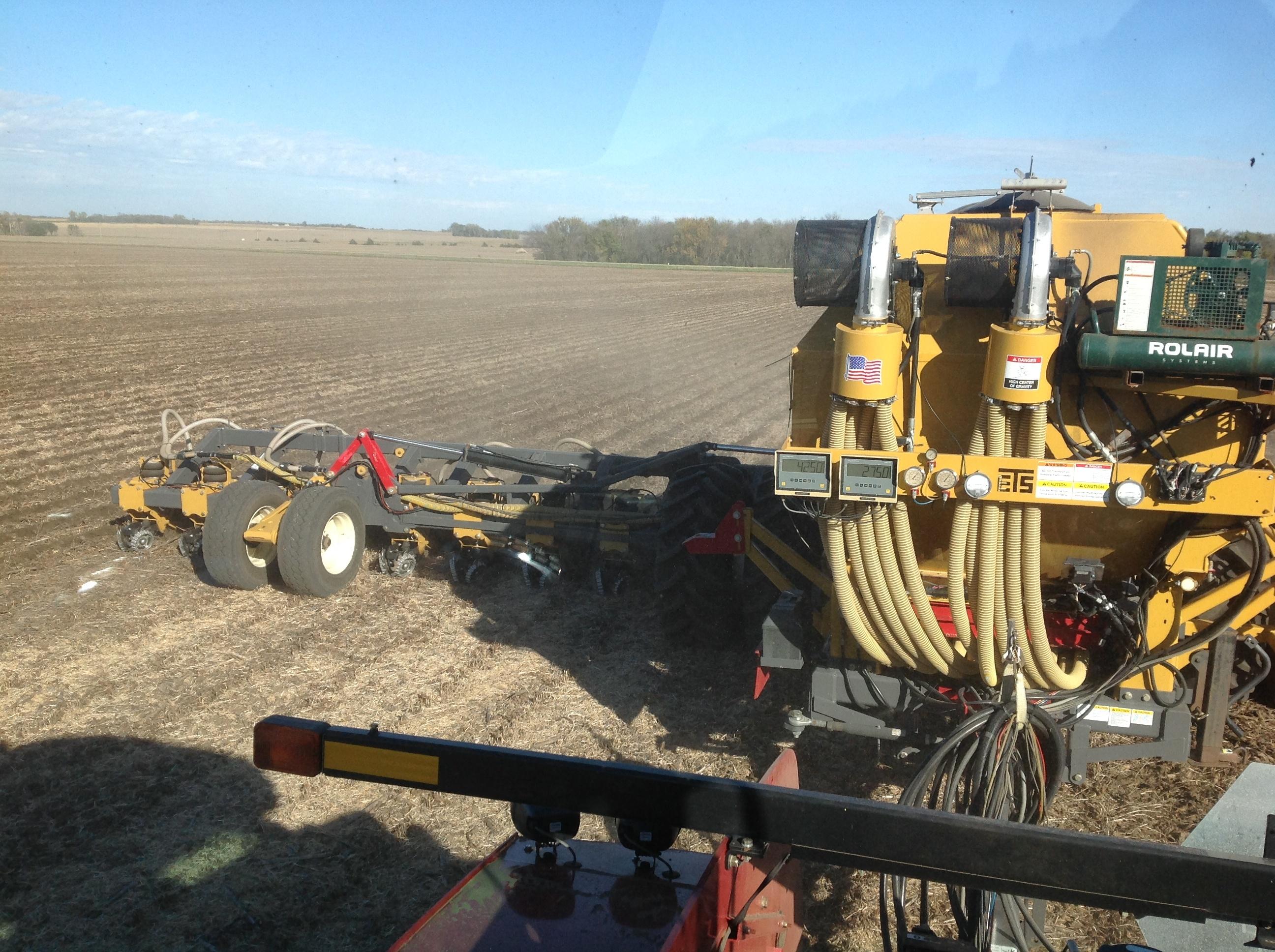 SoilWarrior Custom Strip Till Service at Ranek Ag