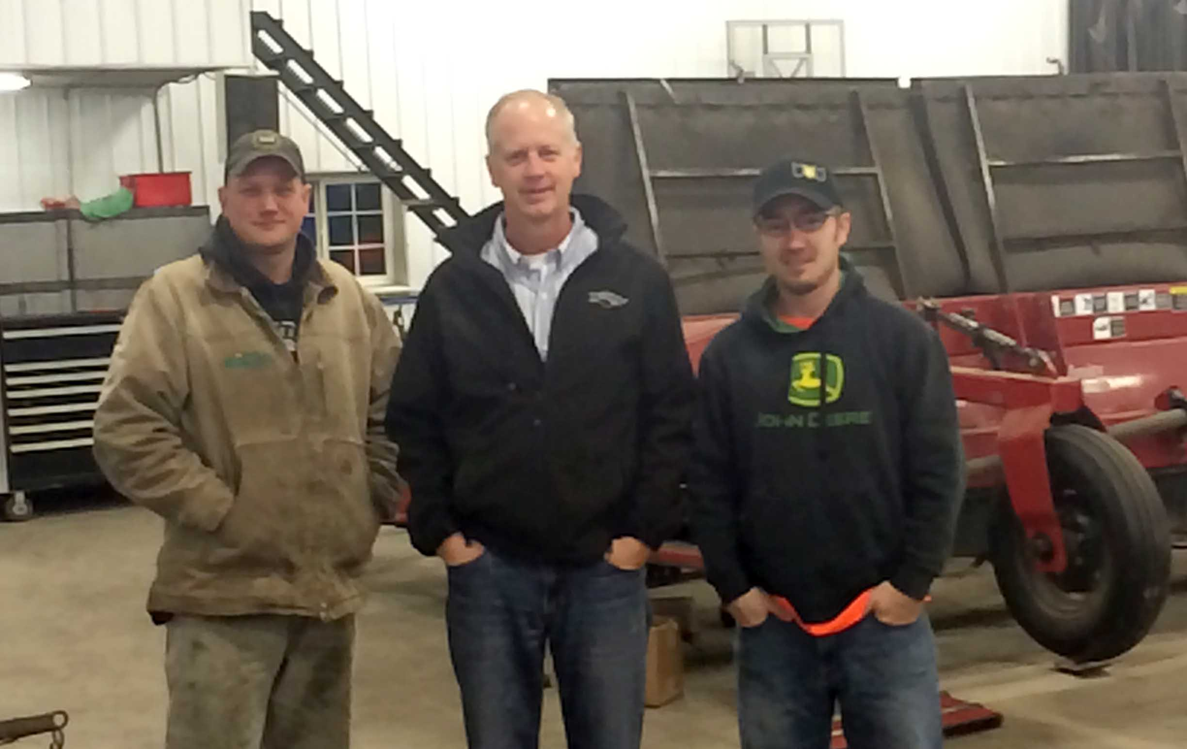 Brian Ryberg Jason Anderson Chris Leske Ryberg Farms