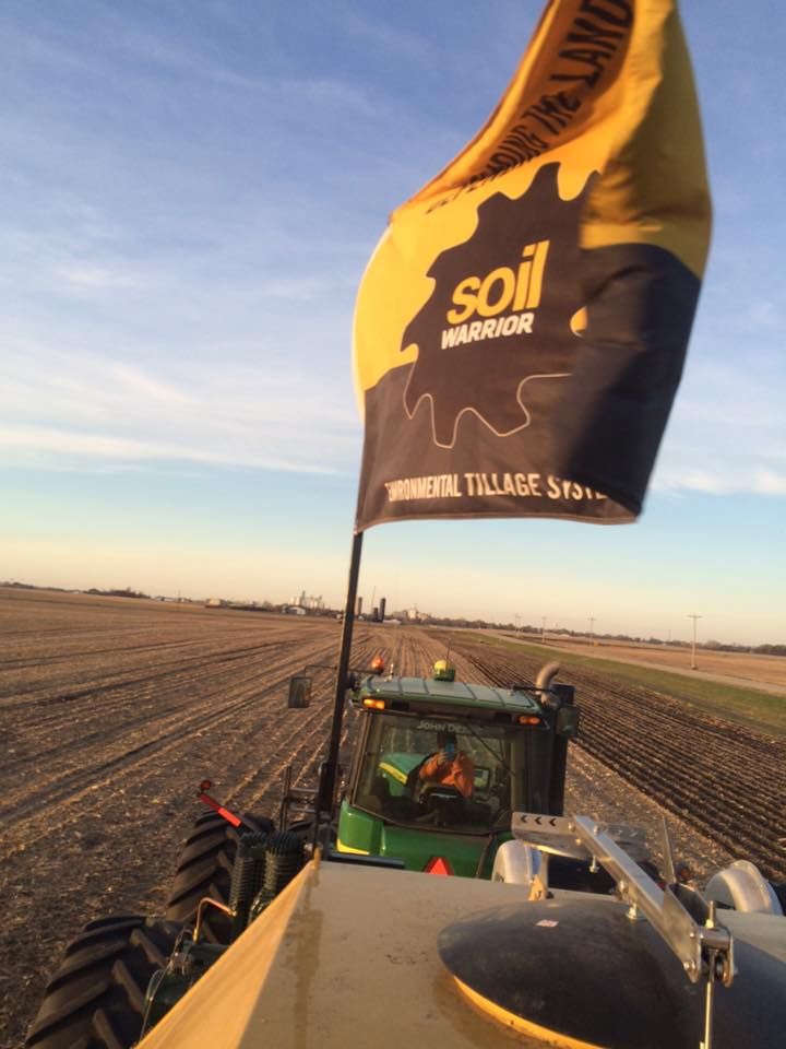 Ryberg strip till with SoilWarrior
