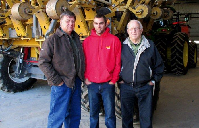 Scott, Wayne, and George Cantelon