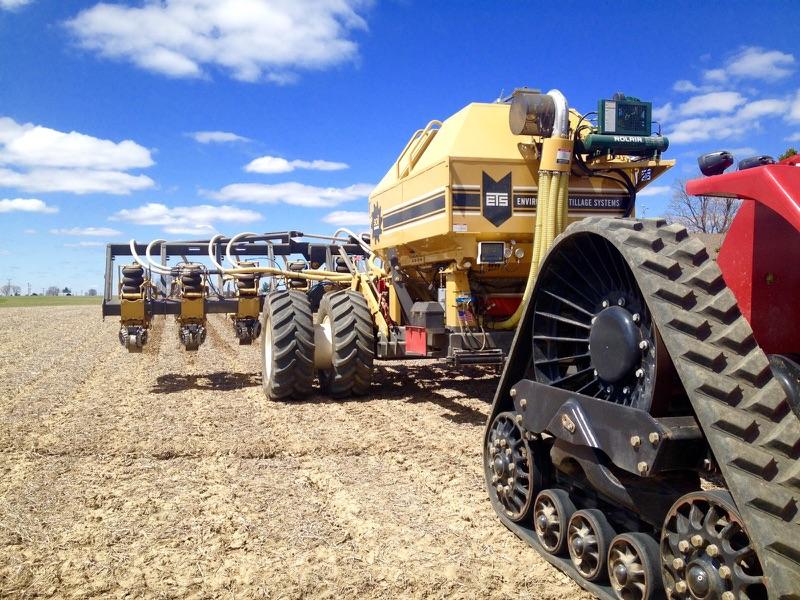 SKS Farm uses a SoilWarrior for strip-till